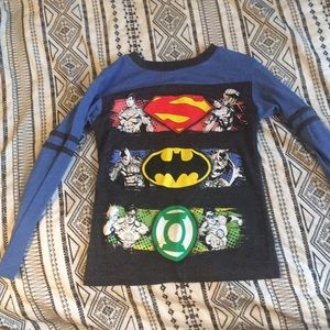 Other - Justice League Long Sleeve Tee